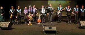 گروه موسیقی «تامای» در نیاوران آذری مینوازد
