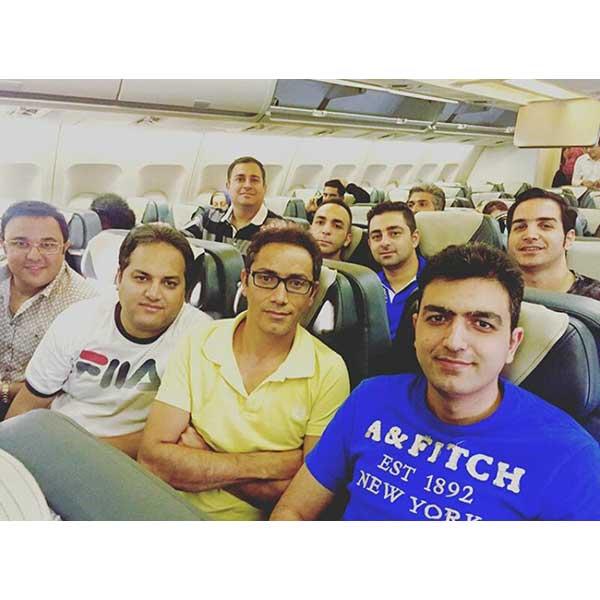 محسن یگانه : هم اکنون به سمت دبی برای کنسرت فردا شب