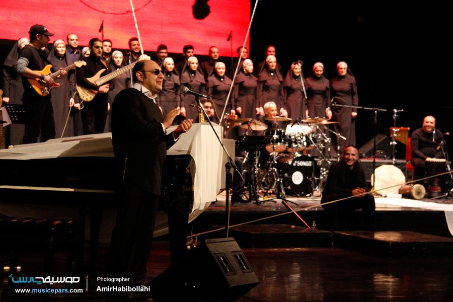 ارکستر فوژان با مضمون صلح جهانی به روی صحنه رفت