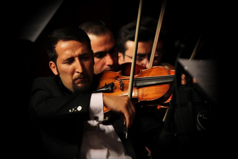 کنسرت شرق و غرب ارکستر هنگام در تبریز برگزار شد