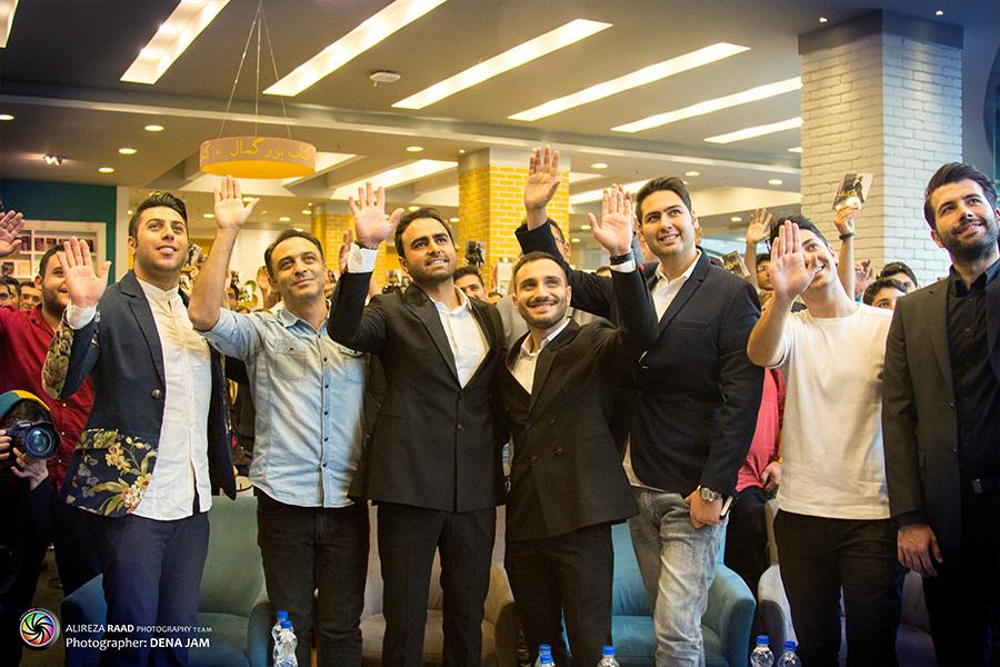 جشن امضای آلبوم «قایق کاغذی» گروه پازل برگزار شد