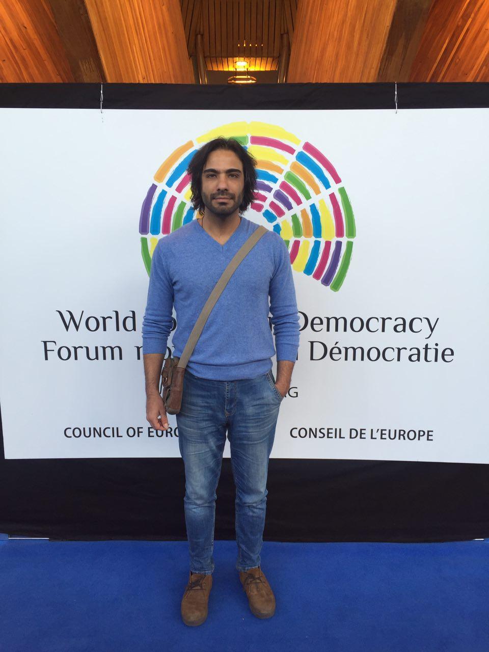 نوای تار علی قمصری در قلب اروپا