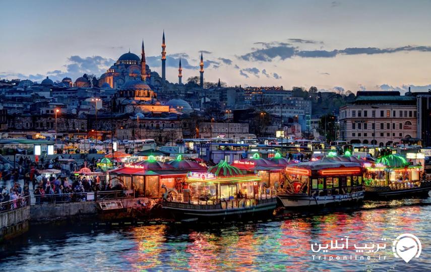 هزینه سفر به استانبول