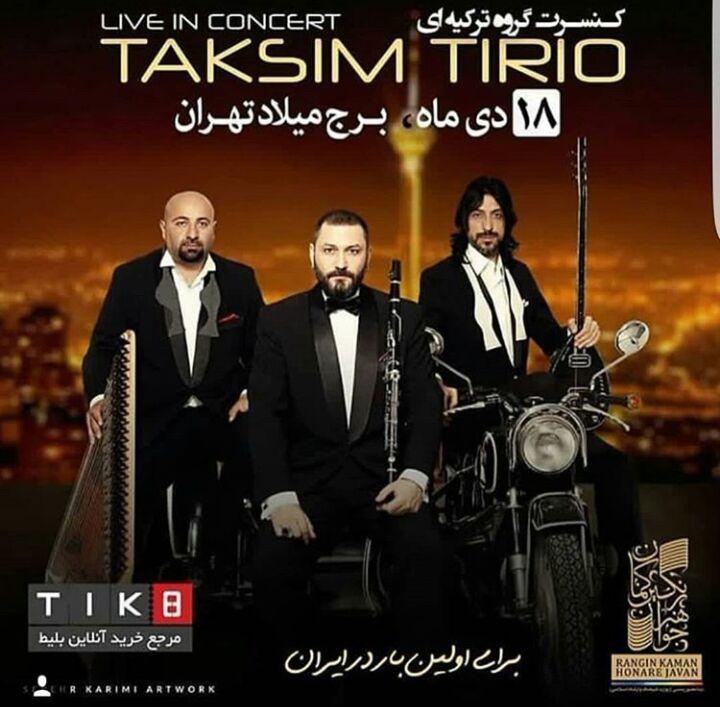 گروه Taksim Trio