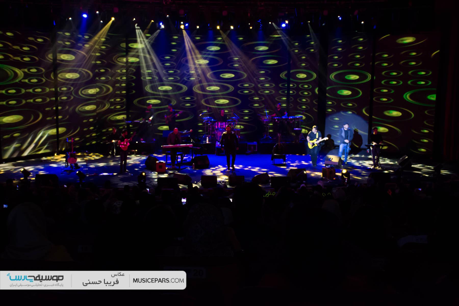 برنامه کنسرت های خرداد و تیر 97