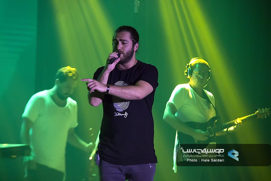 کنسرت مسیح وآرش زنجان